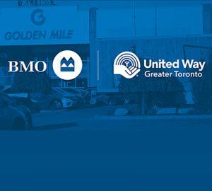 BMO and United Way logos