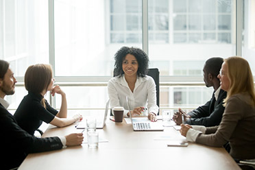 People in a meeting room