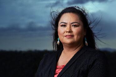 Tamara Littlelight, BMO Branch Manager, Buffalo Run, Tsuut'ina Nation, AB