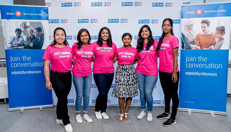 BMO célèbre la Journée de la fille en partenariat avec Plan International Canada