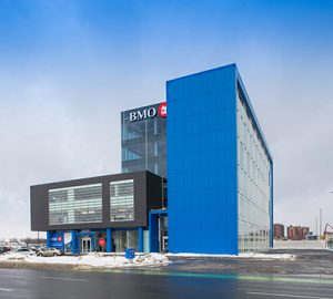 BMO building in Laval, Quebec