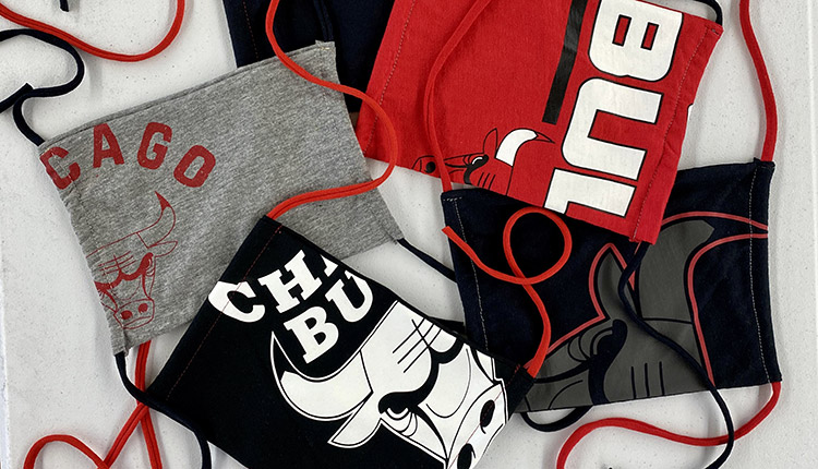 BMO Harris Bank fait équipe avec les Bulls de Chicago pour faire don de 10 000 masques sanitaires